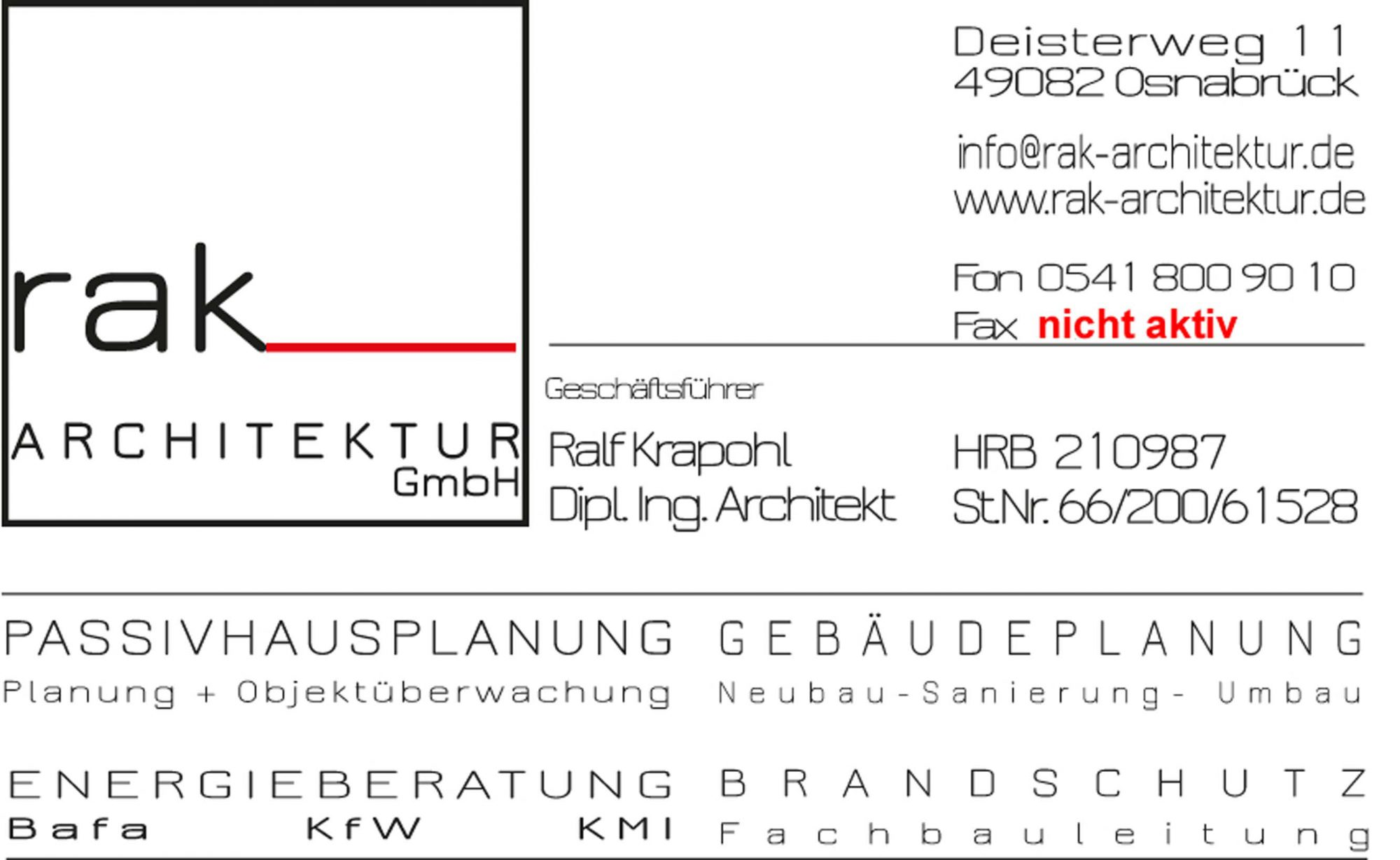 rak_ARCHITEKTUR GmbH